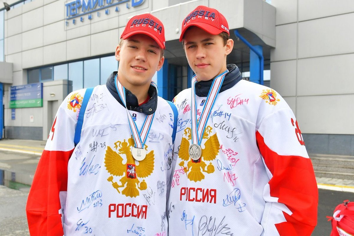Yegor Chinakhov, Arseny Gritsyuk, Takhir Mingachyov and Yergor Bardakov called into Russia's world junior training camp beginning November, 29 @CBJProspects @NJDevils @BlueJacketsPR @khl_eng @BlueJacketsNHL https://t.co/rR9GsCwKrc
