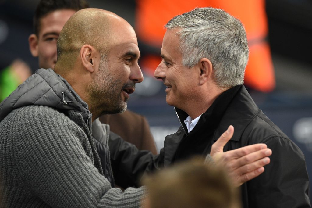 📊Jose Mourinho & Pep Guardiola meet in a League game with Mourinho's side ahead in the table for the first time since their final encounter in La Liga, Real Madrid's 2-1 win at Barcelona in April 2012  📺 Live SNF: Tottenham v Man City ⏲️ Saturday from 5pm, @SkySportsPL https://t.co/vF7L2b3o9T