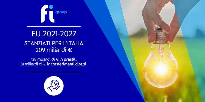 📣 [Recovery Plan]   🟦 [Italia]Il 40% delle risorse sarà dedicato alla transizione green, ....