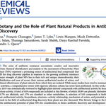 Congrats to my 🤩mentors @QuaveEthnobot Lab for publishing this beast of a chemical review: natural products offer promising leads into antimicrobial drug discovery! (I witnessed this lengthy labor of love while I performed my modest rUTI biofilm experiments nearby)