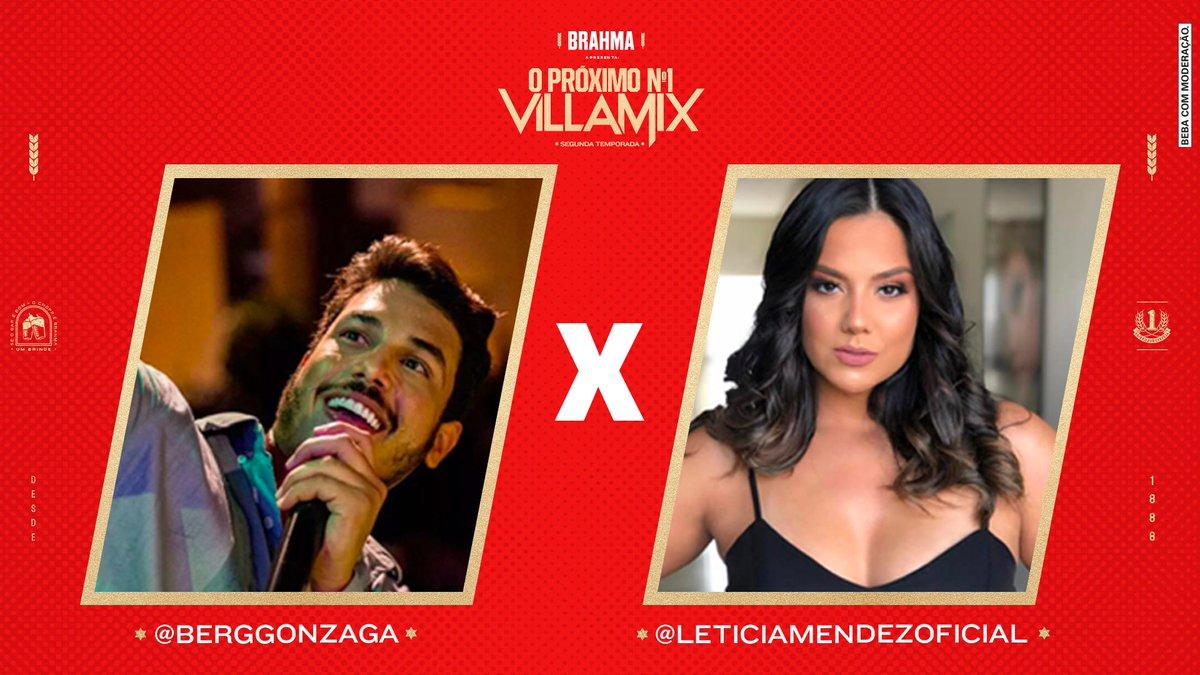 Hoje o #PróximoN1 promete. Os desafiantes da noite são eles:  Berg Gonzaga x Letícia Mendez. Quem será o representante do time @LauanaPrado na finalíssima do PN1? A escolha é sua!  #AprecieComModeração