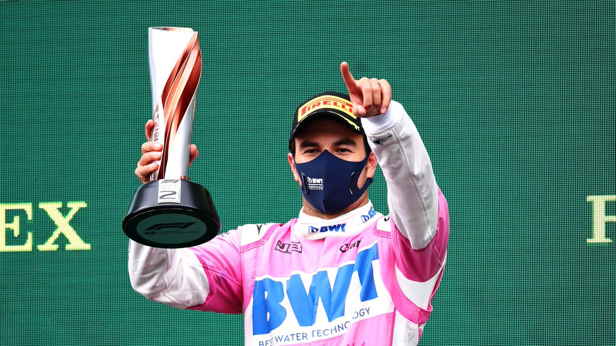 Points/championship record - @SChecoPerez   2011: 14 pts, P16  2012: 66 pts, P10  2013: 49 pts, P11  2014: 59 pts, P10  2015: 78 pts, P9 2016: 101 pts, P7  2017: 100 pts, P7  2018: 62 pts, P8 2019: 52 pts, P10  2020: 100 pts, P4*  #F1   *after Turkish Grand Prix https://t.co/mmroTpyIC2