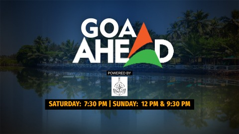#GoaAhead: India Ahead brings a special show from the vibrant state- Goa   @prudentgoa @bhupendrachaube Watch on- Airtel- 373, Tata Sky-617,   Saturday at 7.30 PM and Sunday at 12 PM & 9.30 PM