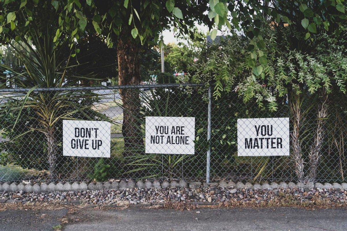 You Matter. #ForPhysicianWellBeing #PhysicianBurnout #PhysicianWellness #PhysicianWellBeing #covid19 #coronavirus #medtwitter #AskTwice #LetsTalk #EndTheStigma #MentalHealthIsHealth #YouAreNotAlone #WorldSuicidePreventionDay