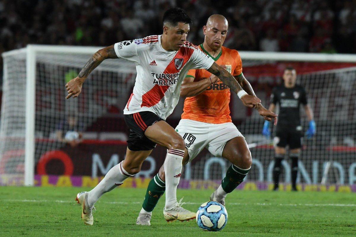 #HoyJuegaRiver ⚪️🔴  ⚽️ River Plate vs. Banfield 🏆 Copa de la Liga Profesional 🗓 Fecha 4 - Zona 3 🕤 21:30 🏟 Florencio Sola 🏙 Banfield 📺 Fox Sports Premium 🔎 Fernando Rapallini https://t.co/658o8Durc7
