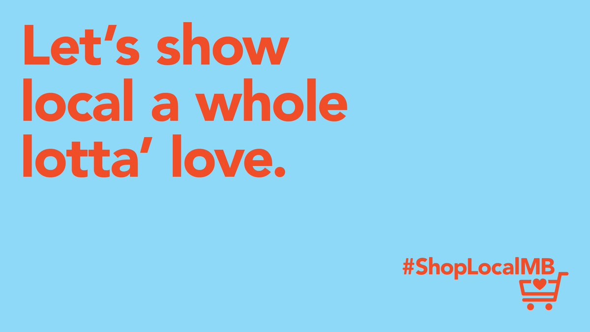 All Manitobans play an important role in supporting local businesses during this difficult time.Based on a suggestion by the Premier's Economic Opportunities Advisory Board, we're launching the #ShopLocalMB campaign.