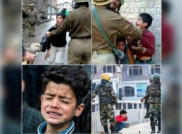 Don't forget the children of Kashmir...💔 #WorldChildrensDay