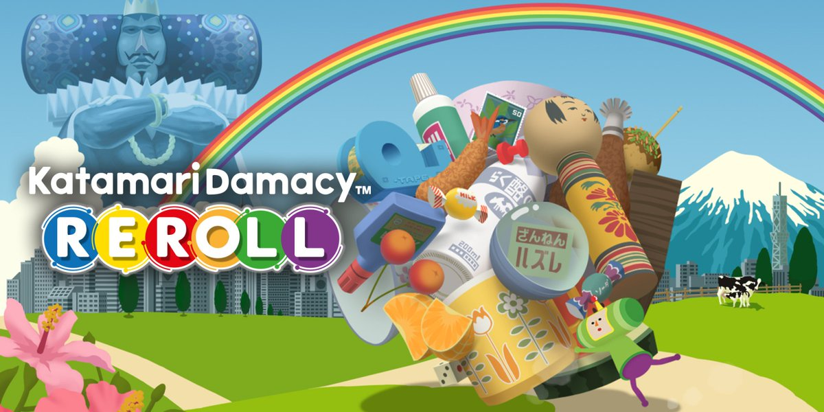 #Katamari Damacy REROLL llega con su acción a #Xbox One y #PlayStation 4 -  #BandaiNamco #NintendoSwitch #Pc #Steam