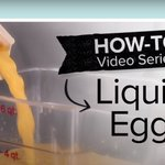 Image for the Tweet beginning: With liquid whole eggs, the