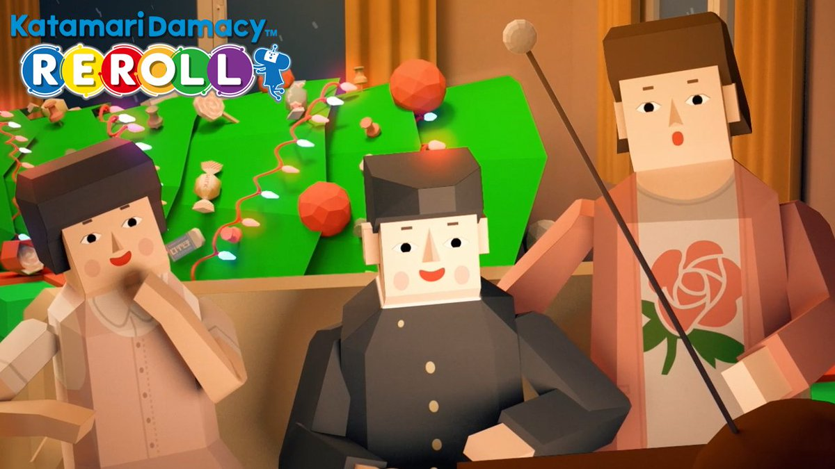 Why spend your precious holidays getting bummed out by games about war and government surveillance when you could experience the simple joy of rolling everything up into a ball and pitching it into space?   Katamari Damacy Reroll is available for PS4 and Xbox One today!