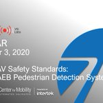 Image for the Tweet beginning: ADAS & AV Safety Standards