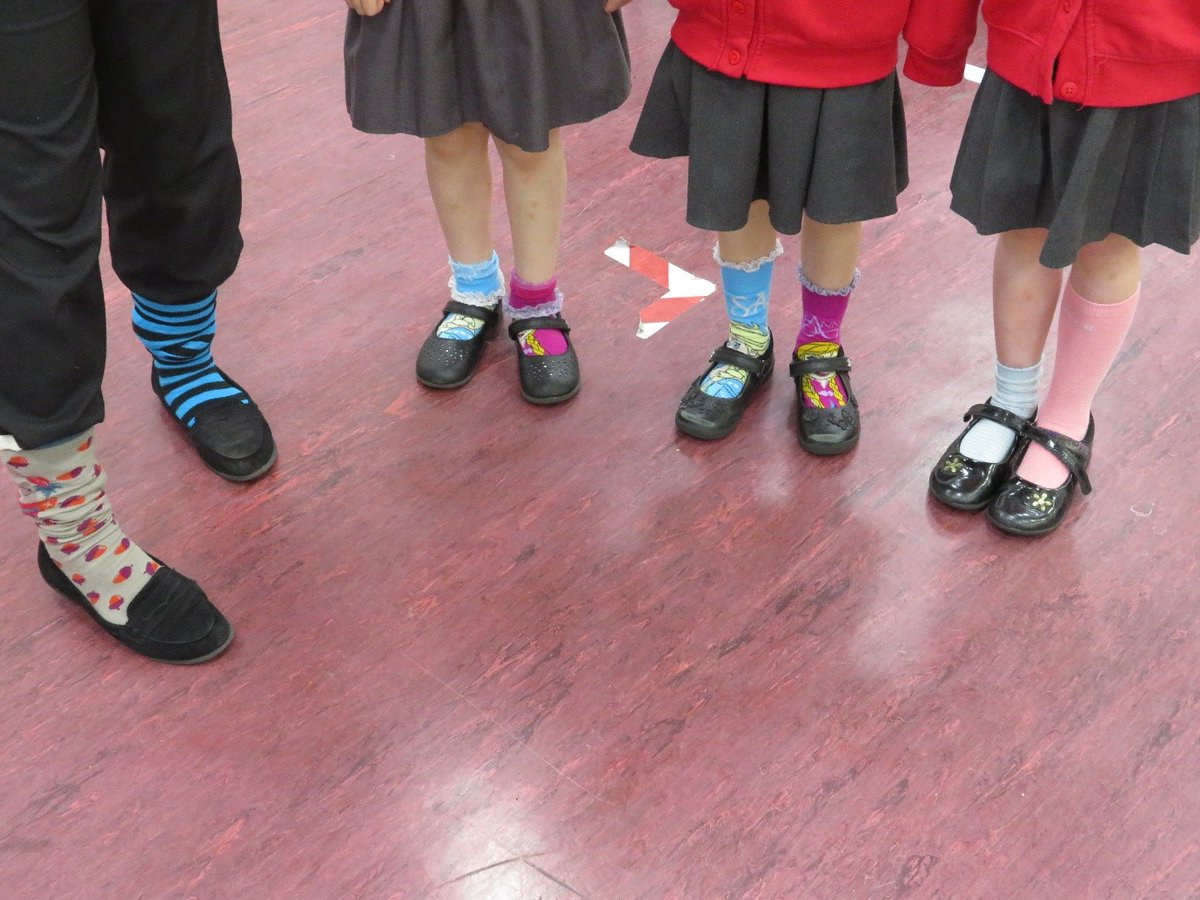Odd socks for #AntiBullyingWeek Today is the last day of Anti-Bullying Week & so we've all been wearing our odd socks with pride ... It's a great way to celebrate what makes us all unique!  #OddSocksDay
