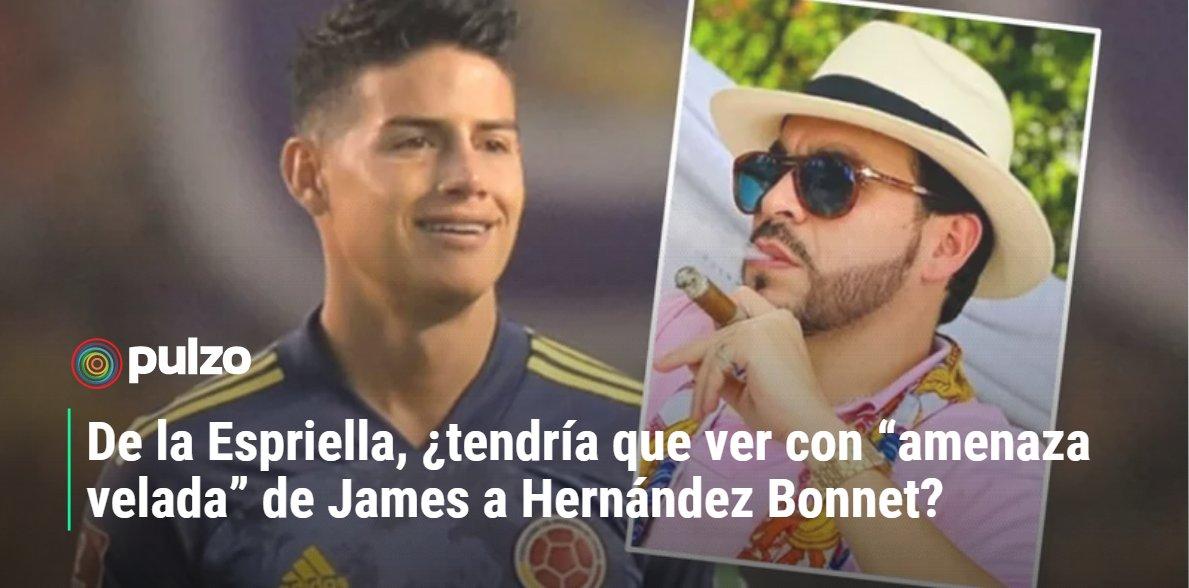 James Rodríguez (@jamesdrodriguez), volante de la Selección Colombia (@FCFSeleccionCol), anunció acciones legales ante las versiones que lo vinculan a una aparente pelea con Luis Fernando Muriel (@LuisFMurielCF).🤔⤵ https://t.co/XvFhJuCQrN https://t.co/5hBxHPocNg