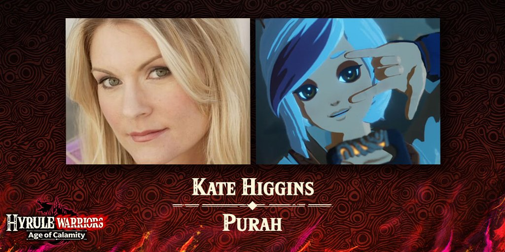 Zelda Universe On Twitter You May Have Heard Her In The Champion S Ballad Dlc Of Breath Of The Wild And Now Thekatehiggins Is Back As Purah In Hyrule Warriors Age Of Calamity