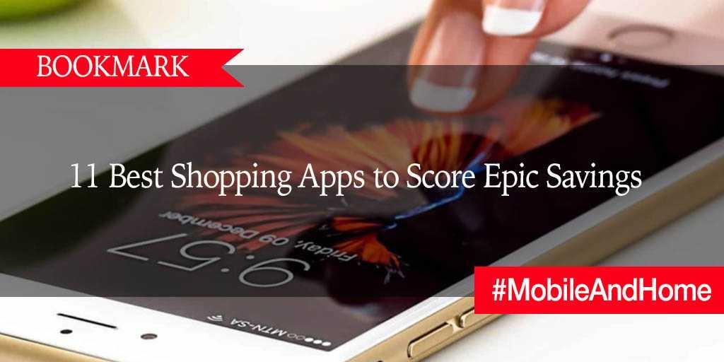 BOOKMARK: 11 Best Shopping Apps to Score Epic Savings https://t.co/VBR4mlIOVn via @DollarSprout #MobileAndHome https://t.co/OXwM4fedrG