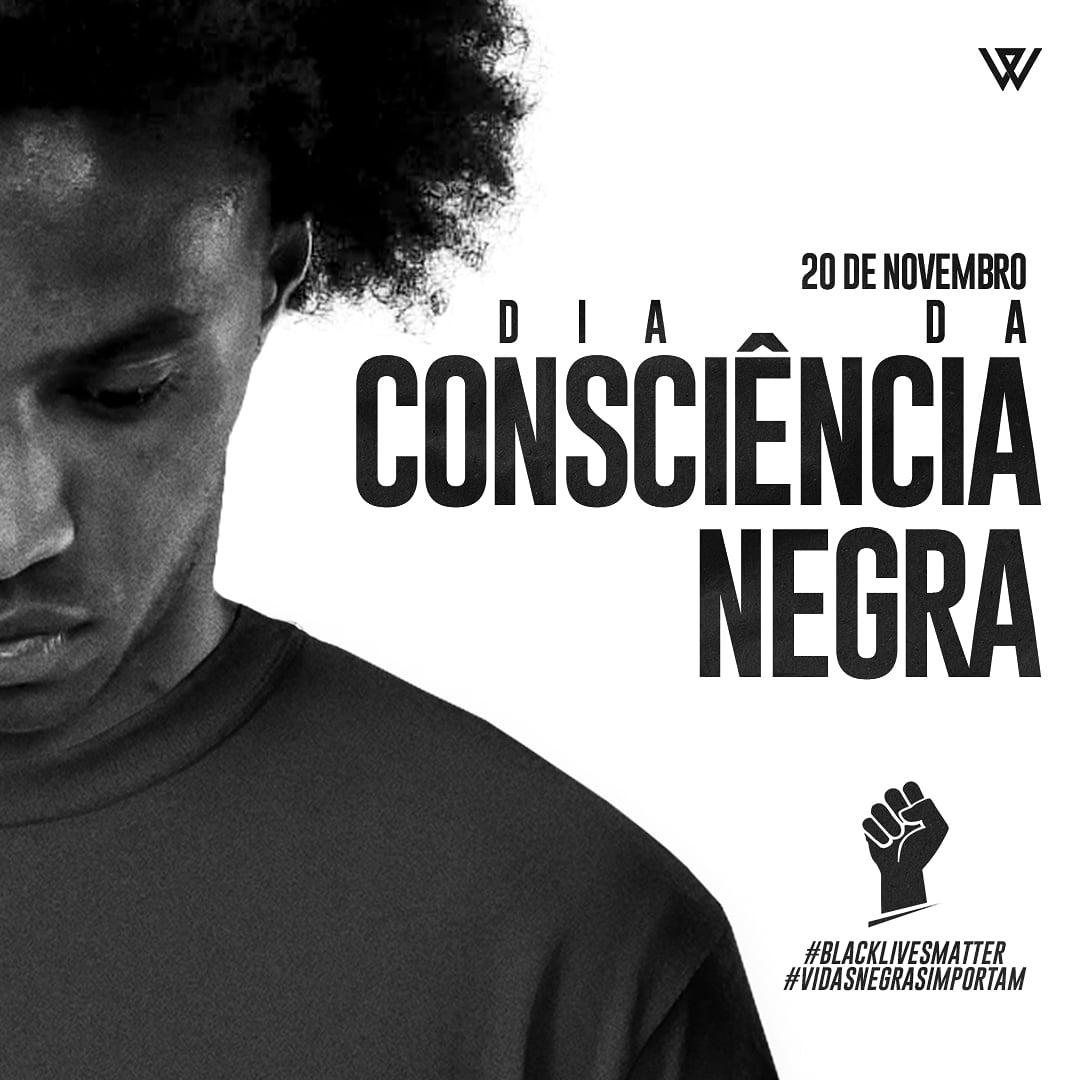 Dia da consciência negra, mas infelizmente mais um dia de luto pela morte de um homem negro que foi covardemente espancado no Brasil. #vidasnegrasimportam #blackLivesMatter #luto #diadaconsciêncianegra