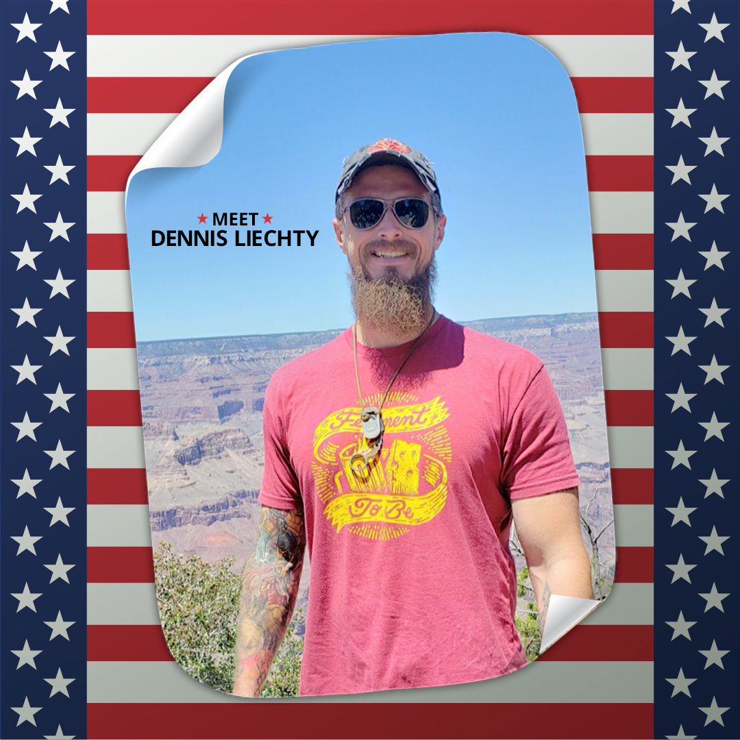 In celebration of  Military Family Appreciation Month, meet Dennis Liechty! An Army veteran and now stay-at-home dad who has decided to better himself through education at Rio.  https://t.co/ig1MTk01w9 #MilitaryFamilyAppreciationMonth #VeteranStudent https://t.co/Rd8REBQXdz