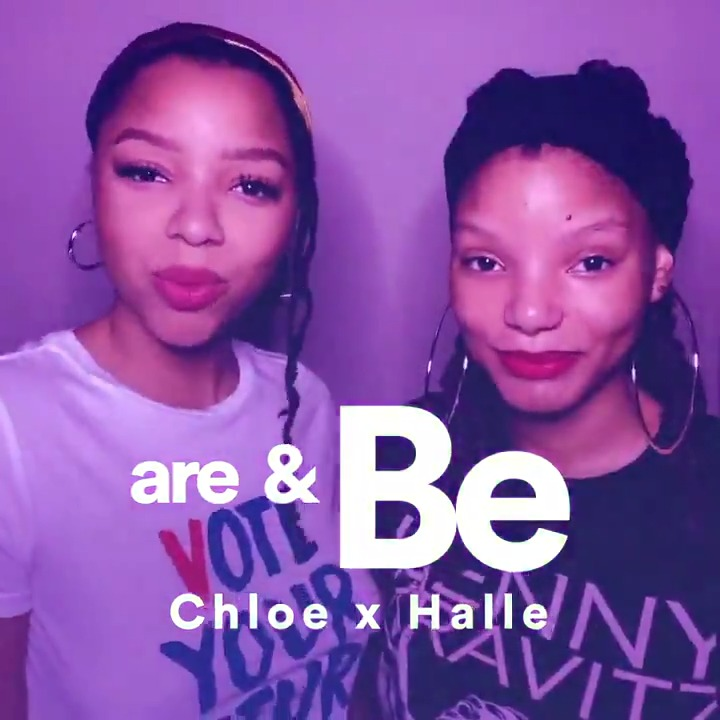 We're sending love to @chloexhalle for their new #SpotifySingles 💜 Vibe to their cover of a classic Zhané song and a new version of Tipsy on the Are & Be playlist now