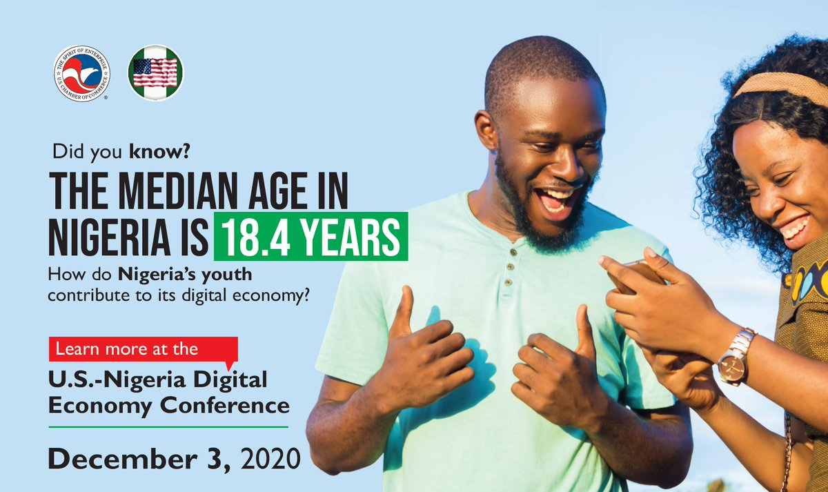 test Twitter Media - Join the @USChamberAfrica and the @ABCouncil_ng on Dec. 3 to learn more about how the largest youth pop. in Africa is driving Nigeria's #digitaleconomy. Register for the U.S.-Nigeria Digital Economy Conference at https://t.co/NBx973qf4B… https://t.co/Z4EErin6nK