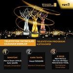 Image for the Tweet beginning: TRT #Geleceğinİletişimcileri yarışmasında ödül kazanan