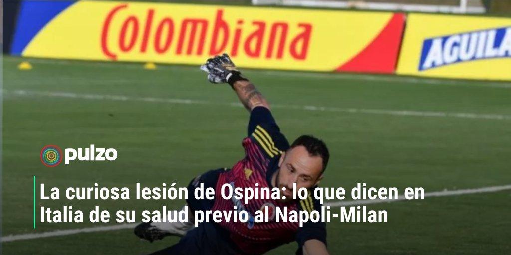 El guardameta colombiano 🇨🇴 no estuvo en el partido contra Ecuador, por Eliminatoria, pero sí estaría en Napoli vs. Milan. 👉https://t.co/qvOUCZK0UT https://t.co/BOw4ylEkfT
