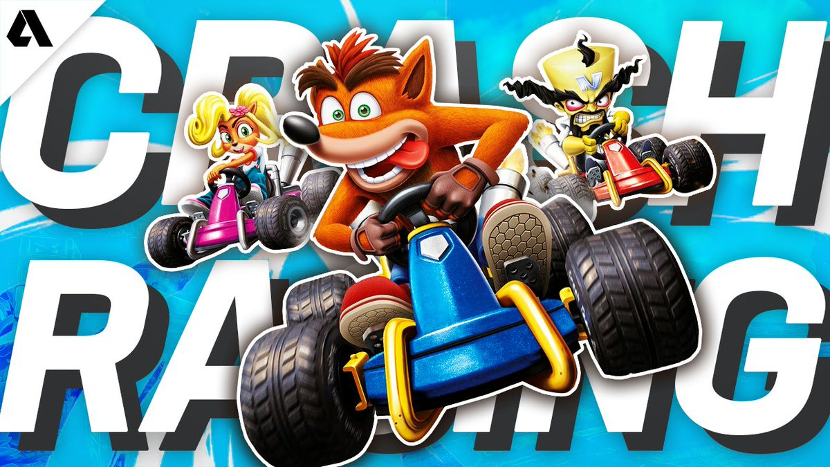 Akshon Esports - Despite positive reviews at launch and a strong nostalgic brand, it did not take long for Crash Team Racing - Nitro Refueled to fall into a spiral of decline. #CrashBandicoot   📺What happened?