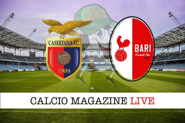 Casertana – Bari: diretta live, risultato in tempo reale https://t.co/za4t6BtGbM @Fantacalciok https://t.co/EHhDhXuH7Z