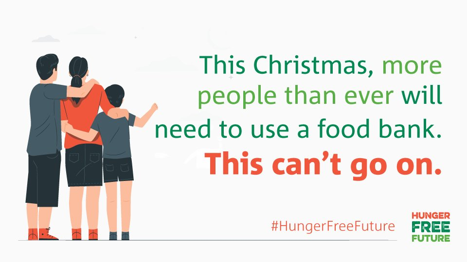 We need to act now. Use your voice to join our campaign for change and help build a #HungerFreeFuture >
