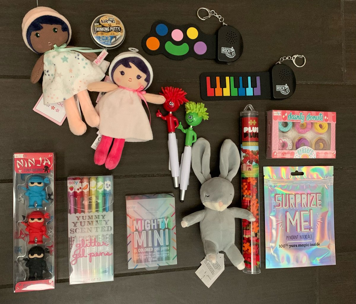 Stocking Stuffer Magic! Here are just a few of our favorite #stockingstuffers for the kiddos this holiday season!  Stop by the store & check out our Holiday Market! #shoplocal #shopsmall #shopearly