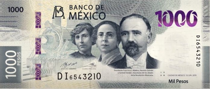 México lanza un billete de 1.000 pesos - https://t.co/exvZa645gx #Economía https://t.co/A4fpmu5GmY