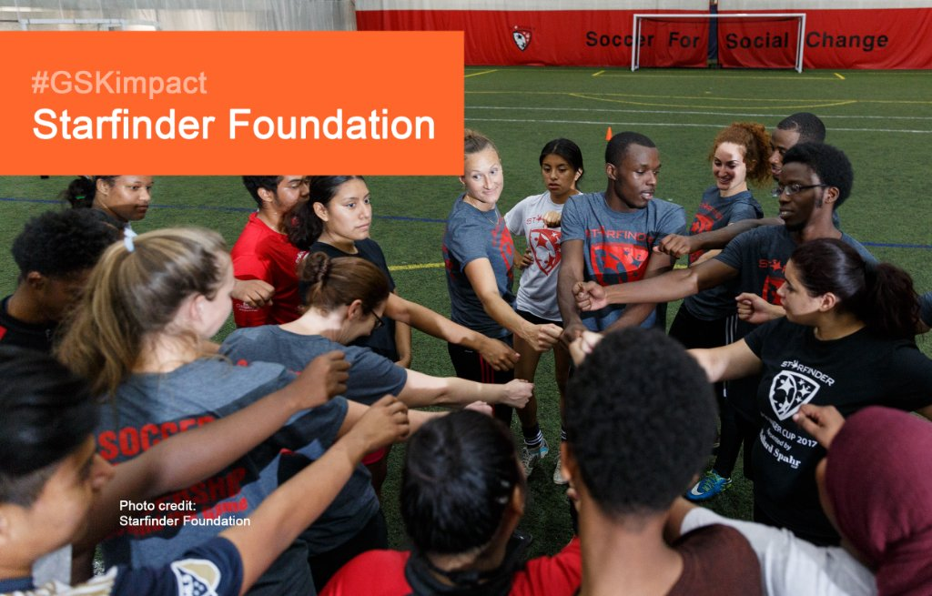 ⚽ Kick it up for @StarfinderFound and their 2020 #GSKimpact Award!  They inspire success on and off the field by using soccer to inspire social change and transform the lives of youth in underserved communities.  Meet our winners:  🏆https://t.co/XvPg4kZMfp   @philafound https://t.co/hd2Y9Wl6wZ