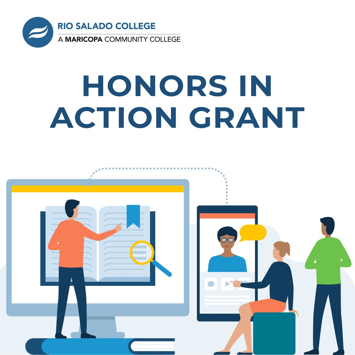 Our Phi Theta Kappa (PTK) chapter, Alpha Theta Omicron, is one of two 2020 PTK Honors in Action Grant recipients for the state of Arizona! Read about it more at the link below. https://t.co/Nq6VKPJkrP https://t.co/e7zx9L1quJ