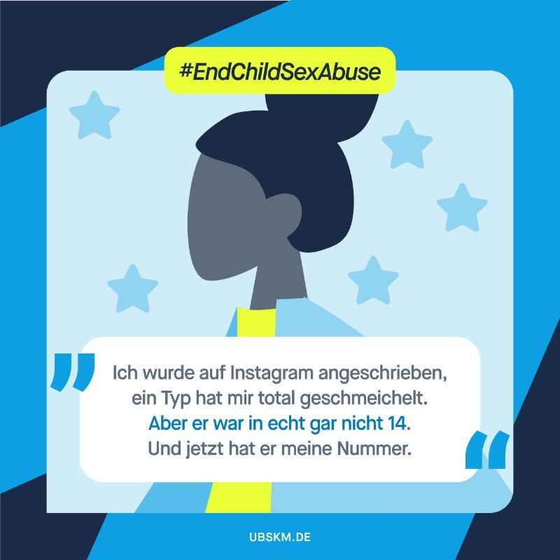 !B #Cybergrooming ist die Anbahnung sexueller Gewalt im Chat: Erwachsene sprechen Kinder und Jugendliche an, überreden sie zum Posieren vor der Webcam, zum Senden anzüglicher Bilder oder zu einem Treffen. Mehr zum #EndChildSexAbuseDay bei @coe_children. #EndChildSexAbuse