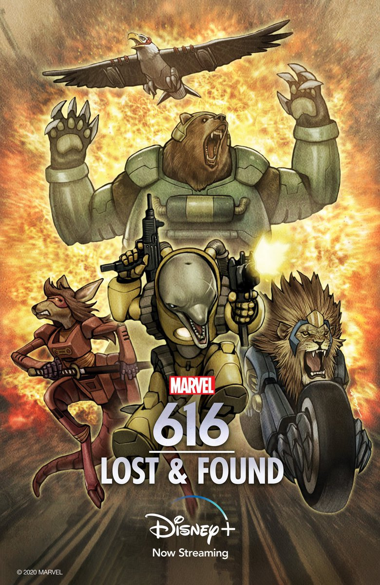 "Today my documentary launches on @disneyplus. Watch as I try pull a @JamesGunn and launch a forgotten Marvel Superhero Team you've never heard of before. Check out ""Lost & Found"" Marvel 616."