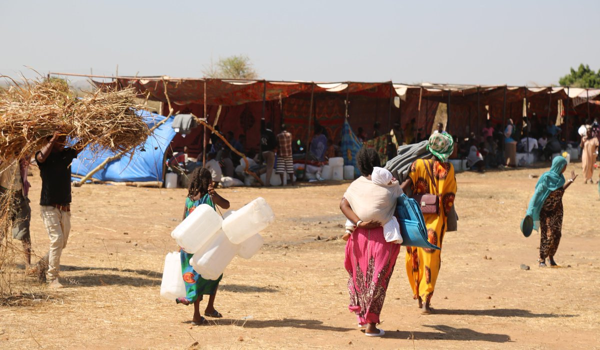 36K Ethiopian refugees have fled to Sudan in the past 2 weeks w/ thousands more expected as the conflict in #Tigray continues.  W/ the Govt. @UNSudan Team🇸🇩🇺🇳 is providing immediate support, especially to the most vulnerable, including women and children.