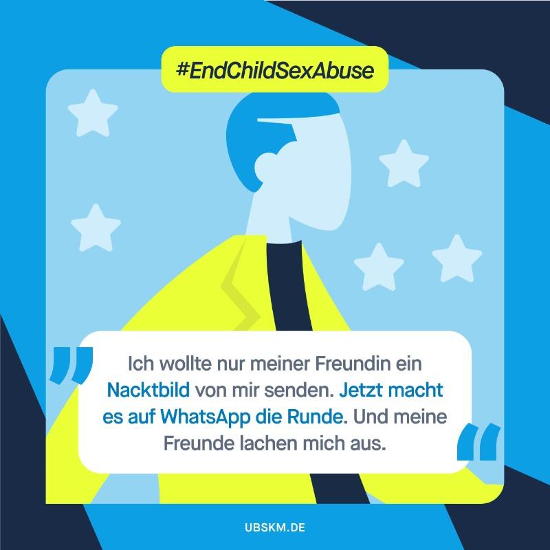 !B Freizügige Bilder geraten im Internet leicht in falsche Hände. Sind sie einmal im Umlauf, ist es oft nicht mehr möglich, sie zu löschen. Mehr zum #EndChildSexAbuseDay beim @coe_children. #EuropäischerTag
