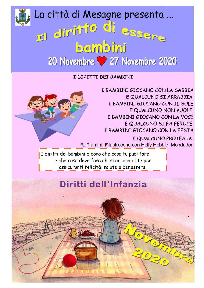 """Giornata dei Diritti dell'Infanzia: sulla pagina """"Io non mi spengo"""" si accoglieranno per una settimana i contributi dei bambini - https://t.co/UqjzphIG5a https://t.co/brA2qq39gk"""