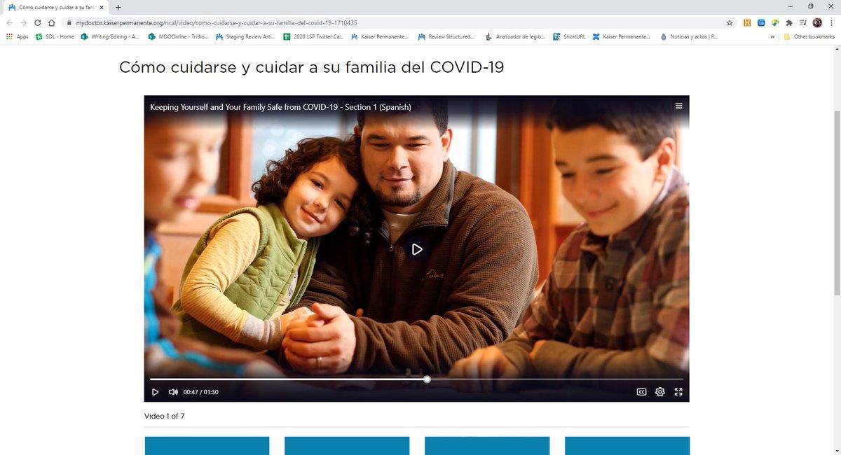 ¿Cómo puede protegerse y proteger a su familia del COVID-19? Obtenga respuestas de las Doctoras Sandoval y Arias a sus preguntas más frecuentes: https://t.co/yKNj1cJ8KB #COVID19 #fridaymorning https://t.co/vbZi1SYB0Q