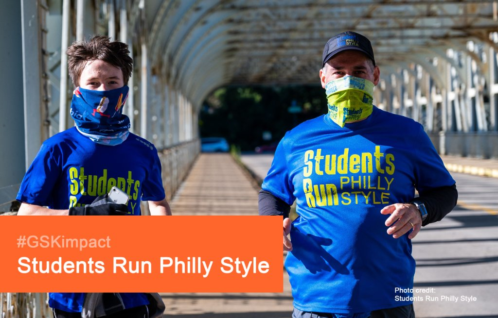 Running builds perseverance, encourages participation, & patience. It's great for physical & mental health. @StudentsRunPhl transforms students lives through their program. ✋High-five for their 2020 #GSKimpact Award! 🏃‍♂️ Meet our winners:  https://t.co/YHTPdJlgNq   @PhilaFound https://t.co/KYp8lt7fYe