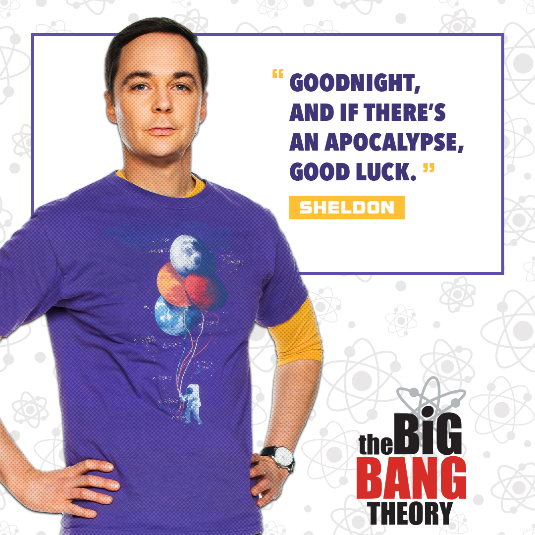 If there was an apocalypse, which of The Big Bang Theory characters would you want to be stuck with?