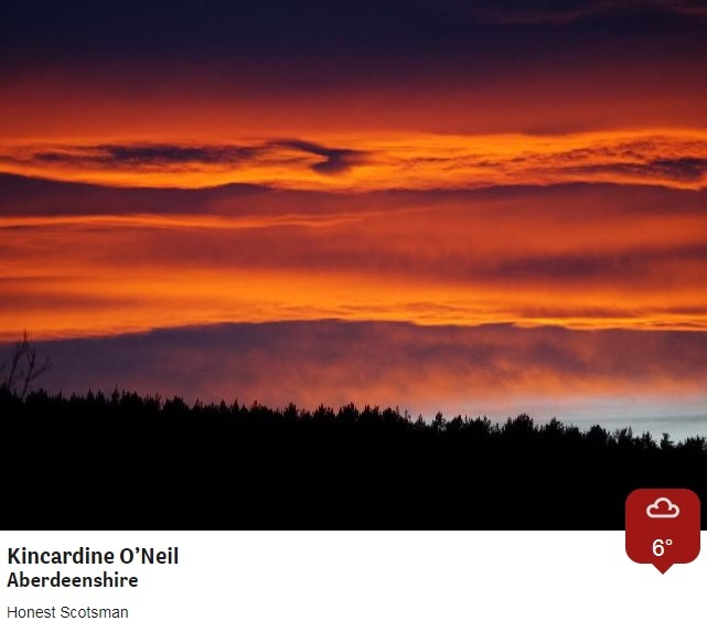 After a grey day for many, there was a flash of colour at #sunset for these lucky @BBCWthrWatchers! CB