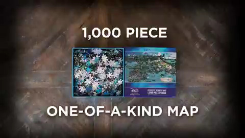 This puzzle is off the map! D23 Gold Members can purchase this a one-of-a-kind puzzle inspired by the #D23FantasticWorlds map now. More details: