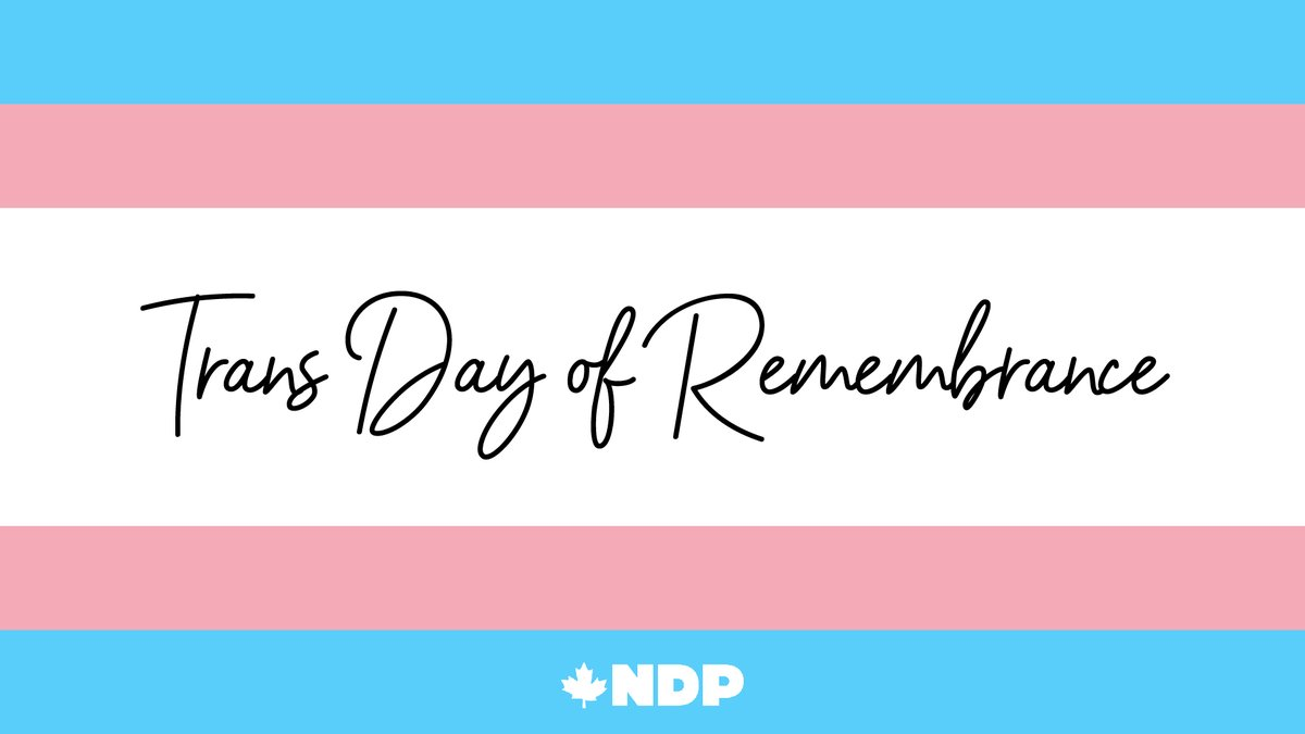 On the #TransDayOfRemembrance I am thinking of all those that have lost their lives to transphobic violence. So let me say this loud, simple and clear: Protect Trans Lives. Trans Rights are Human Rights.
