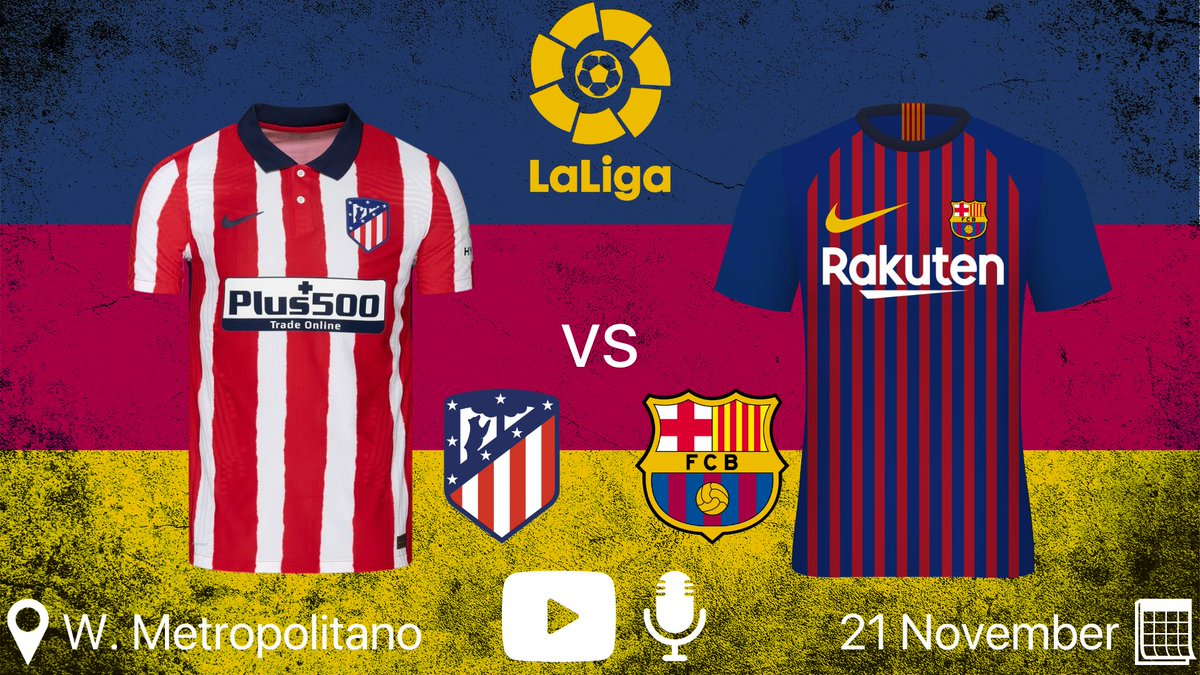 [1/4] I will be reviewing the #AtletiBarca game on my YouTube Channel @BarcaWReview & my podcast @BarcaReviewPod. I'll also announce the winner of my #FIFA21 giveaway in the video.  ▶️ YT: https://t.co/0x4eCOP1Kn 🎙️ Pod: https://t.co/riy25ZPRnQ https://t.co/8EfMHJqxA6
