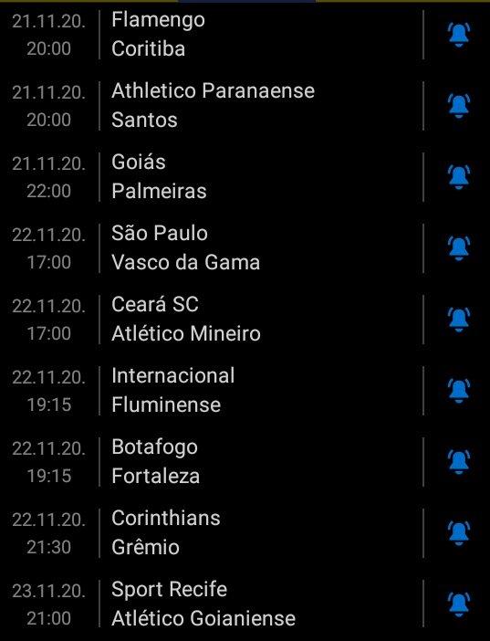 #PalpiteLeague2 - #PL22  Flamengo x Coritiba  Athletico x Santos Goiás x Palmeiras  São Paulo x Vasco Ceará x Atlético/MG Internacional x Fluminense  Botafogo x Fortaleza Corinthians x Grêmio  Sport x Atlético/GO https://t.co/P7igOL2uWE