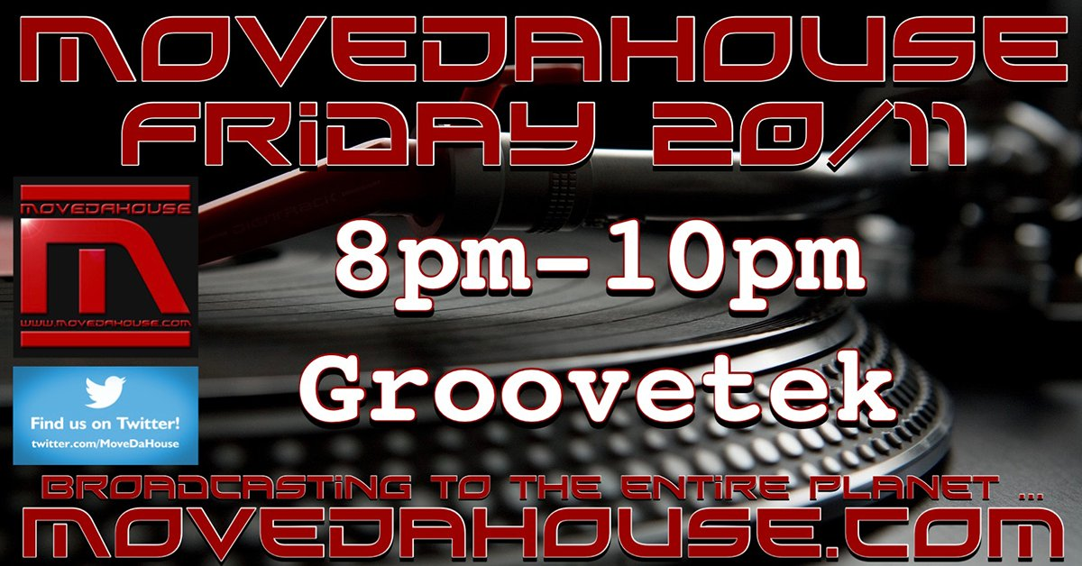 #friday 20/11/20 #livestreaming #radio #djs from 8pm #UK 8-10pm-DJ GrooveTek - Mind The Gap Radio Show #housemusic #deephouse #techhouse #techno #deeptech  #acidhouse #microhouse #inthemix #djsets #worldwide #internetradio #movedahouse #live #Listen:https://t.co/616h5fx4QT https://t.co/SPPuAJfvft