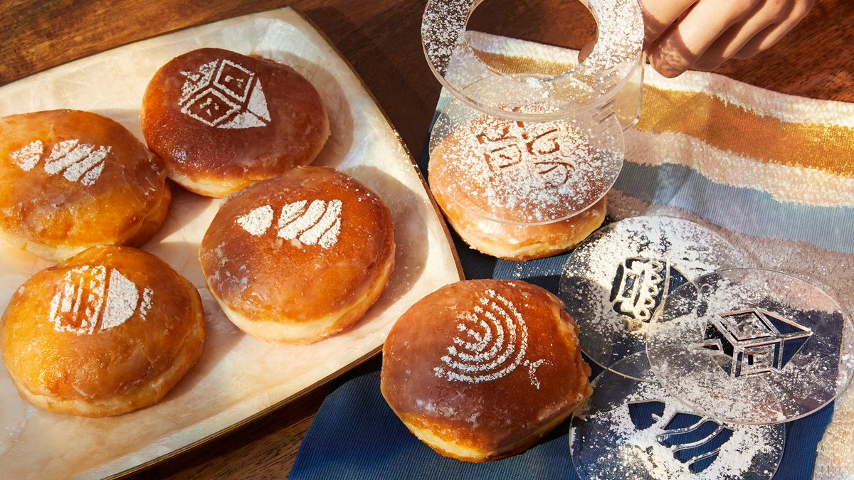 Hanukkah donut stencils? Count us in 🍩✨ Discover more sweet holiday gift ideas under $30: https://t.co/RPVCish3AE https://t.co/D1lmAexvWF