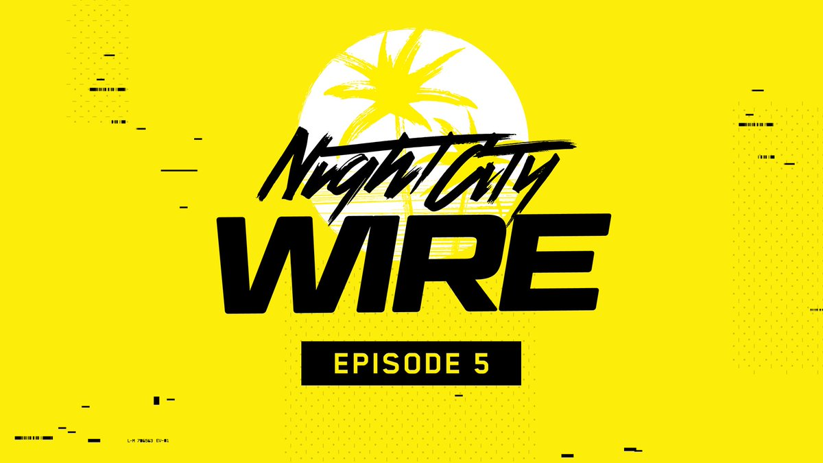 Night City Wire: Episode 5 is now available on @YouTube with subtitles!  🔗 https://t.co/Frxy3vS22d https://t.co/LhKsvfOs0R