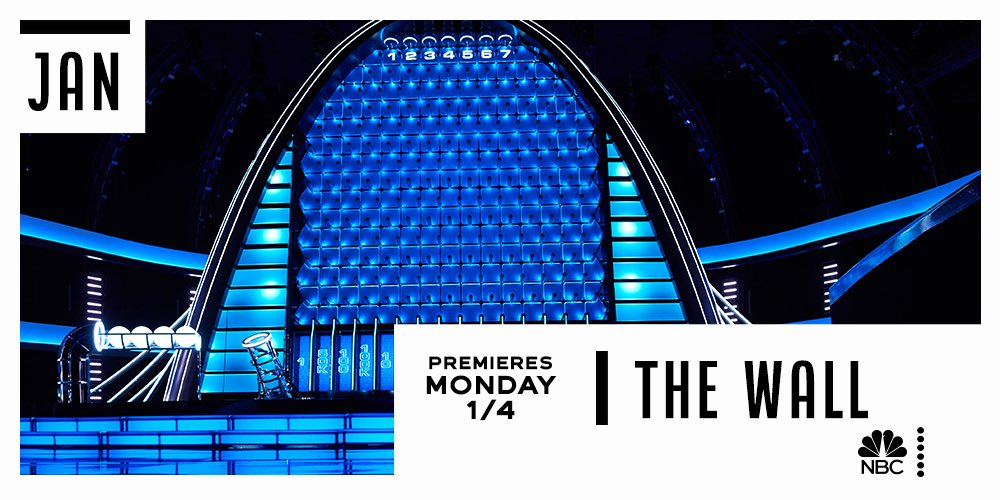 Who's ready to SUPERDROP? #NBCTheWall returns January 4 on @NBC!