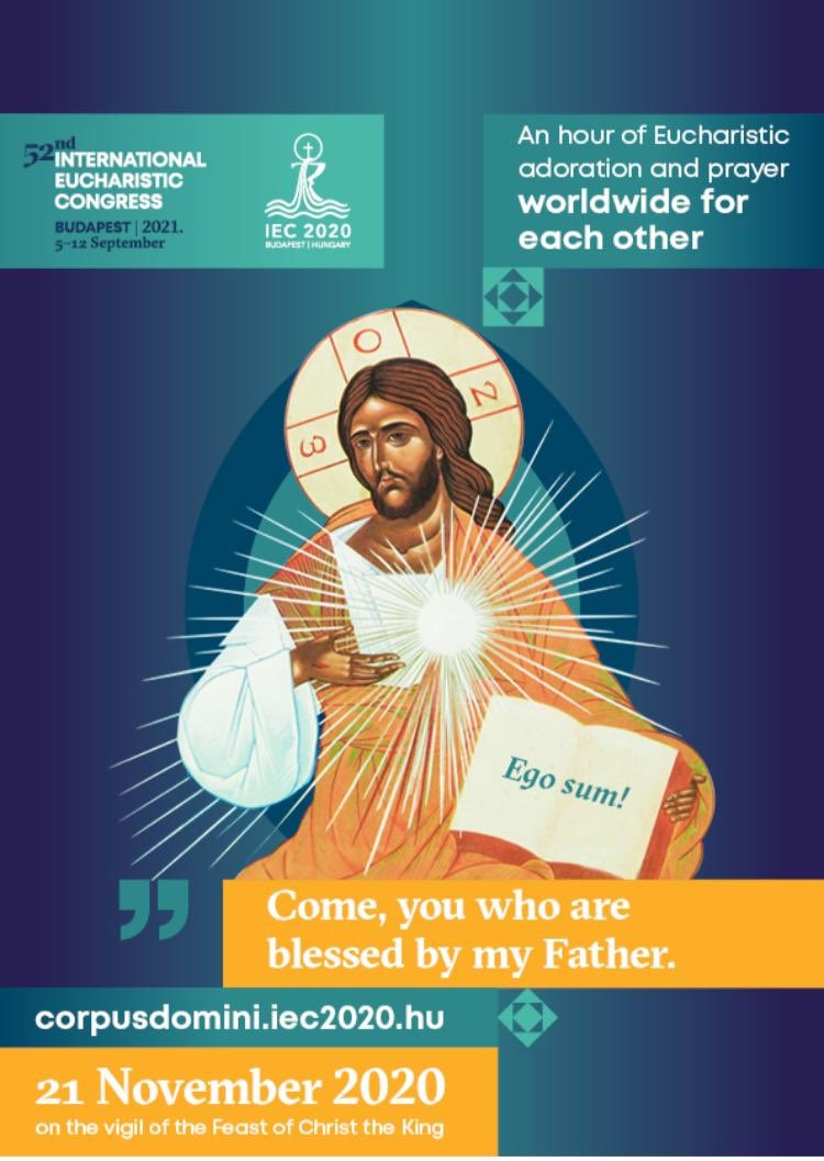 Join me this afternoon at 4pm for a time of Adoration, in union with Catholics around the world. #IEC2020   https://t.co/IPHirKdSTu https://t.co/Yr9CLR1vpz
